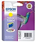 Epson C13T08044011 - T0804 - Yellow - original - blister - ink cartridge - for Stylus Photo P50, PX650, PX660, PX700, PX710, PX720, PX730, PX800, PX810, PX820, PX830