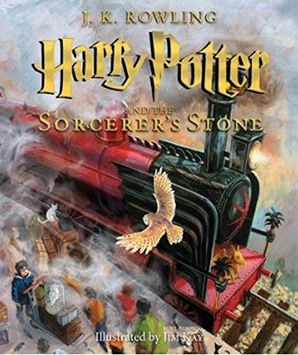Harry Potter and the Sorcerers Stone: The Illustrated Edition (Harry Potter, Book 1)