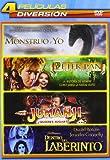 Pack Infantil 2: Mi Monstruo Y Yo, Peter Pan: La Gran Aventura, Jumanji, Dentro Del Laberinto [DVD]