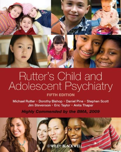 Rutter's Child and Adolescent Psychiatry 5th Edition