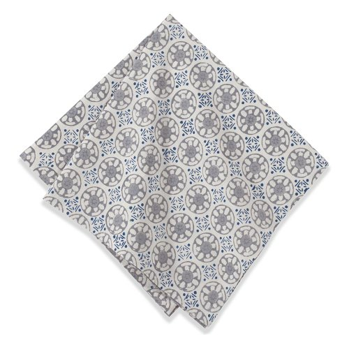 Navy And Grey Bedding 314 front