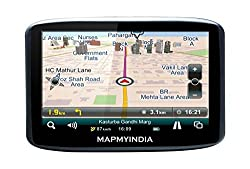 Mapmyindia Car 12.7cm Touch Screen GPS Navigation Tracking Device-Lx350