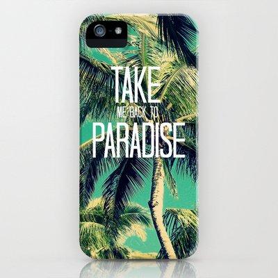 Society6/ソサエティシックス iphone5ケース  海 ビーチ TAKE_ME_BACK_TO_PARADISE_II