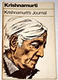 Krishnamurti's Journal (0060648414) by J. Krishnamurti