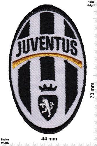 """Patch - FC Juventus Turin - small- Soccer Italy - Soccer - Sport motoristici - Sport - Gioco del calcio - FC Juventus Turin- toppa - applicazione - Ricamato termo-adesivo - Patch"""""""
