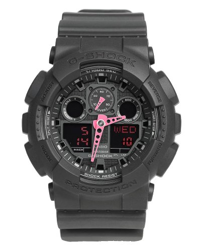 [CASIO] CASIO watches g-shock '200 M waterproof diver's watch GA-100C-1A4 mens [parallel import goods]