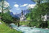【Amazonの商品情報へ】450スモールピース 達人検定マスターピース 教会のある小さな村 ラムサウ―ドイツ 46-202