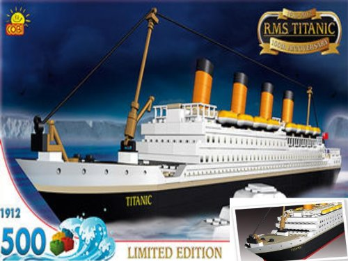 Toys Top Sales: Cobi RMS Titanic Limited Edition #1912 (Lego ...