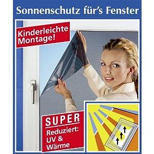 wenko 807610500 sonnenschutzfolie f r fenster kunststoff perforiert 61 x 200 cm schwarz. Black Bedroom Furniture Sets. Home Design Ideas