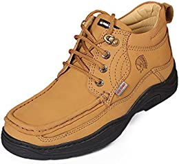 Red Chief Mens Rust Leather Casual Shoes B00MANHLKC