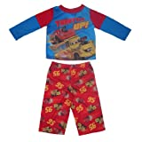 2 PCS SET: Disney Cars Infant Fall / Winter Sleepwear Pajama Top & Pants Set