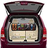 Automotive Accessories Best Deals - BackSeat/Trunk Organizer By Lebogner - 5 Pocket Auto Interior, Perfect Car Organizer, Trunk Organizer, Backseat Organizer, Multipurpose Cargo Accessories Organizer, Back Seat Storage Organizer