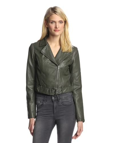 BB Dakota Women's Eliza Convertible Faux Leather Jacket