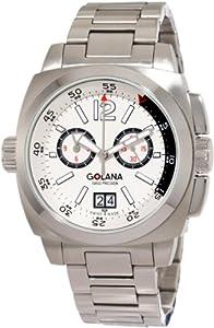 Golana Swiss Men'S Ae400-4 Aero Pro 400 Stainless Steel Watch