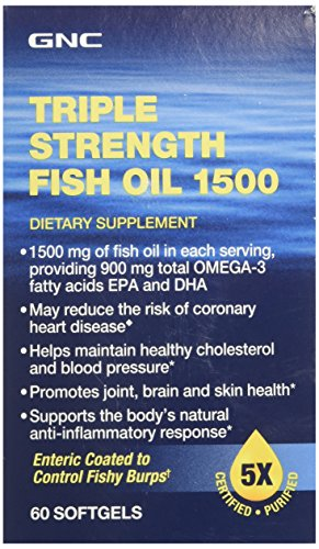Product image for Gnc triple strength fish oil 1500