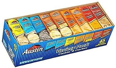 Austin Cookie amp Cracker Variety Pack 45ct - COS