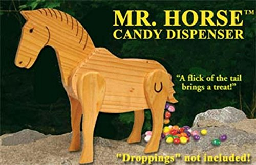 Northlight Mr. Horse Wooden Candy Dispenser Funny Toy with Poops Candy (Candy Toy Dispenser compare prices)