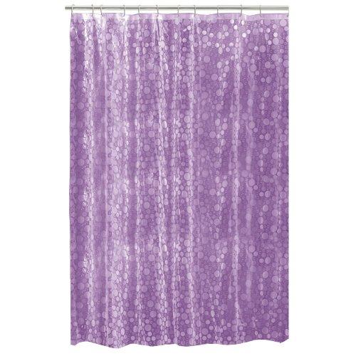 Maytex Mills Fun Bubbles Peva Vinyl Shower Curtain Purple Shower