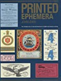 Printed Ephemera: The Changing Uses of Type and Letterforms in English and American Printing