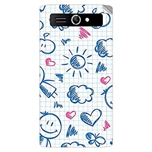 Garmor Designer Mobile Skin Sticker For Panasonic T9 - Mobile Sticker