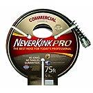 NeverKink 8844-75 Series 4000 Commercial Duty Pro Garden Hose, 5/8-Inch by 75-Feet