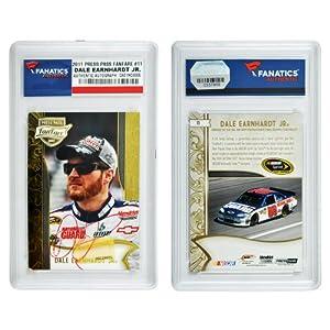 Dale Earnhardt, Jr. Autographed 2011 Press Pass FanFare #11 Card - Memories - Mounted... by Sports Memorabilia