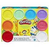 ハスブロ こむぎねんど プレイ・ドー ねんど 8色セット 【子ども 知育玩具 粘土】 Hasbro Play-Doh Rainbow Starter Pack A7923 正規品