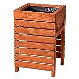 Hochbeet Kräuterbeet Tischbeet aus Holz für Balkon