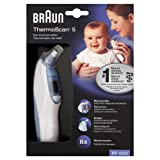 Braun Thermoscan 5 IRT 4520 Ear Temp Thermometer + 60 Extra Filters