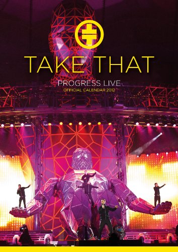 Official Take That A3 Calendar 2012