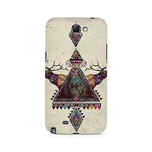 Ebby Deer Symmetry Premium Printed Case For Samsung Note 2
