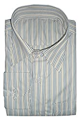 Lords Wear Men's Formal Shirt (LordsWear_Multi Color Stripe_44)