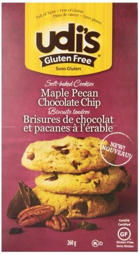 Udi'S Maple Pecan Chocolate Chip Cookies, 261 gm