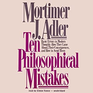 Ten Philosophical Mistakes Audiobook