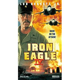 Iron Eagle 4, the dvd