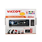 VICTOR 5000W MAX POWER CAR DVD/DIVX/VCD/MP4/MP3/CD COMPATIBLE STEREO PLAYER WITH REMOTE