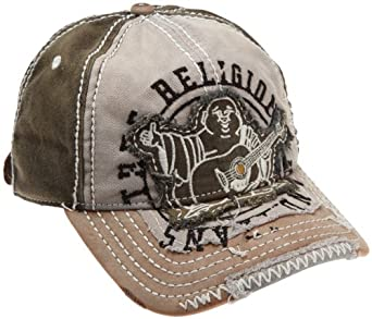 true religion mens big buddha cap black one size at amazon men s clothing store baseball caps. Black Bedroom Furniture Sets. Home Design Ideas