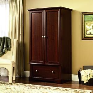 Palladia Wardrobe Armoire Select Cherry Finish