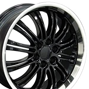 Escalade Style Wheels with Machined Lip Fits Cadillac – Black 22×9 Set of 4