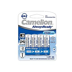 Camelion NH-AA2500ARBP4 Rechargeable Battery