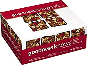 goodnessknows Cranberry Almond Dark Chocolate 12 Count