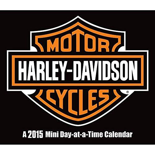 Harley-Davidson 2015 Small Daily Desk Calendar
