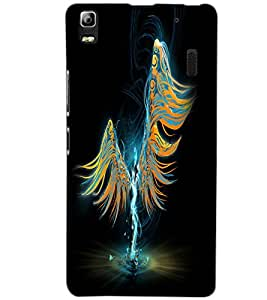 LENOVO A7000 PLUS ANGEL Back Cover by PRINTSWAG