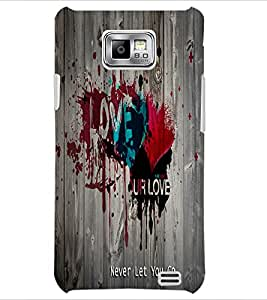 PrintDhaba Quote D-5591 Back Case Cover for SAMSUNG GALAXY S2 (Multi-Coloured)