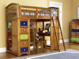 Pulaski Build-A-Bear Bearrific Twin Loft Bed