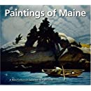 Paintings of Maine: A New Collection Selected by Carl Little (Chameleon Book)