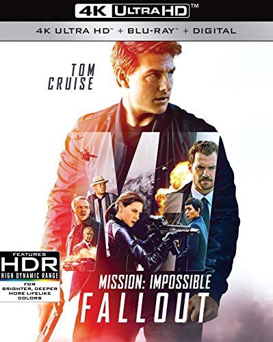 4K Blu-ray : Mission: Impossible: Fallout (With Blu-ray, 4K Mastering, Digital Copy, 3 Pack, Dubbed)