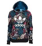 Adidas Originals アディダス オリジナルス Flower Trefoil Hoodie - Women's パーカー レディース AY8386 [並行輸入品]