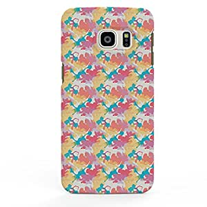 Koveru Designer Printed Protective Snap-On Durable Plastic Back Shell Case Cover for Samsung Galaxy S6 Edge Plus - Splot