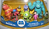 Monster Inc Figure Set Toy Disney Exclusive Set of 7